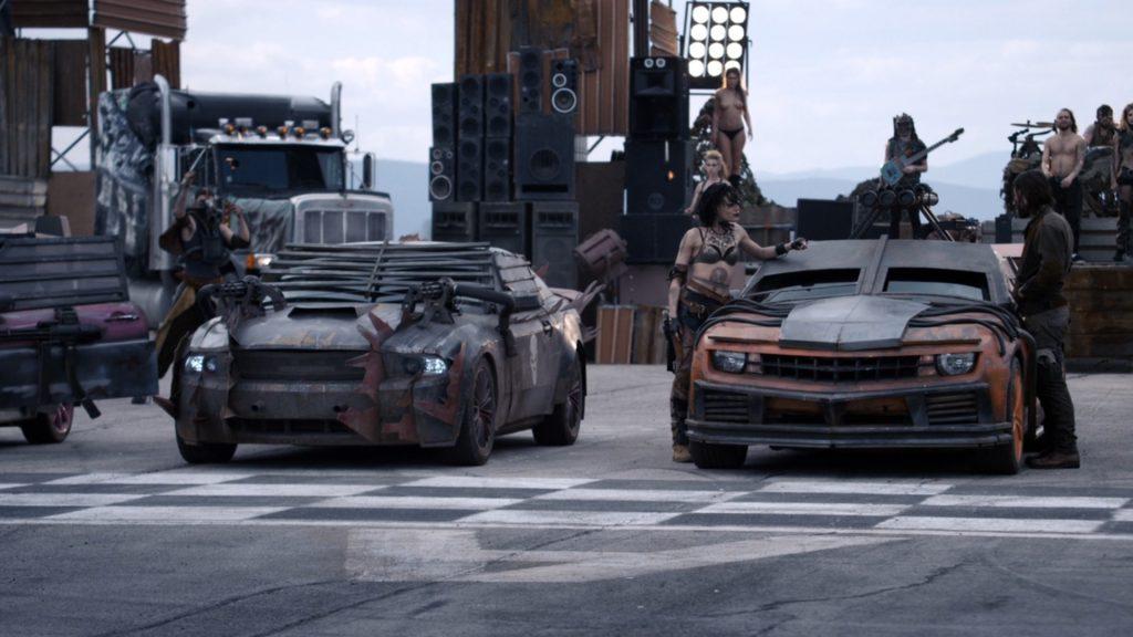 Ford Mustang и Chevrolet Camaro, Смертельная Гонка 4