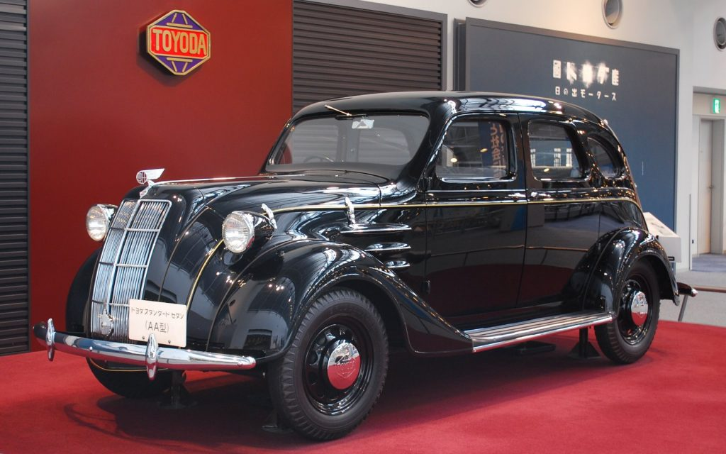 1936 Toyota Model AA.