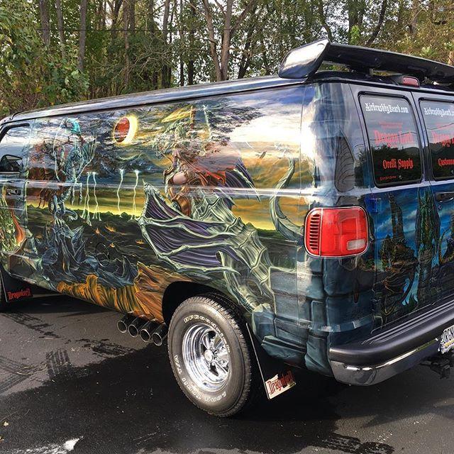 "2000 Dodge Ram Van B1500 ""The Dragon Lord"", body photo, 02."