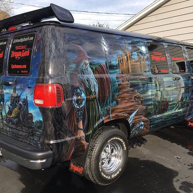 "2000 Dodge Ram Van B1500 ""The Dragon Lord"", body photo, 05."