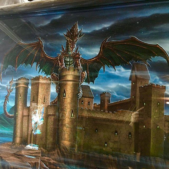 "2000 Dodge Ram Van B1500 ""The Dragon Lord"", artwork details photo, 04."