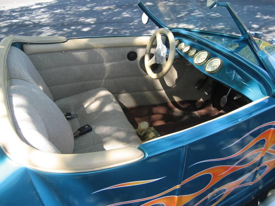 Хот-род Ford с двигателем V6 от Alfa Romeo, фото 4.