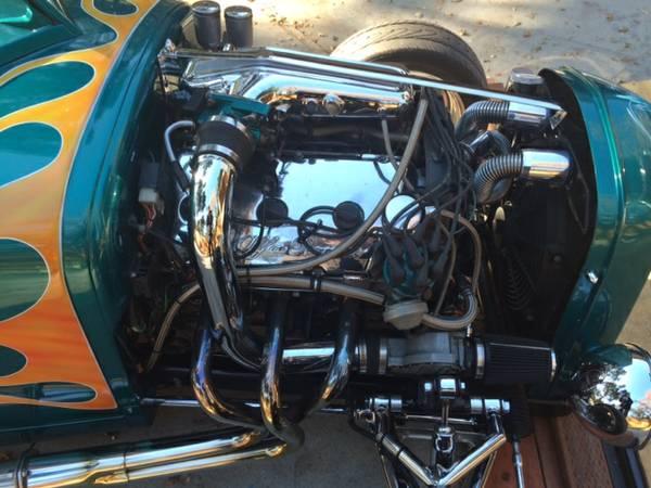 Хот-род Ford с двигателем V6 от Alfa Romeo, фото 10.
