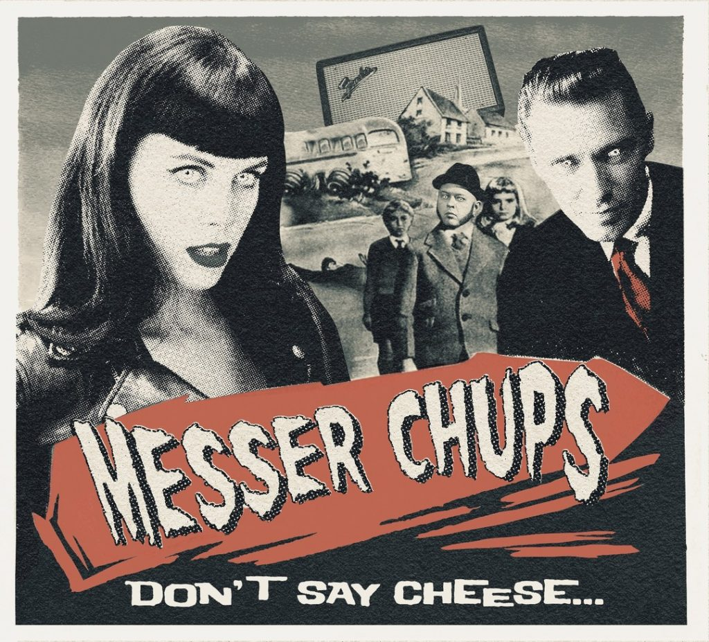 Messer Chups, обложка альбома Don't Say Cheese 2020