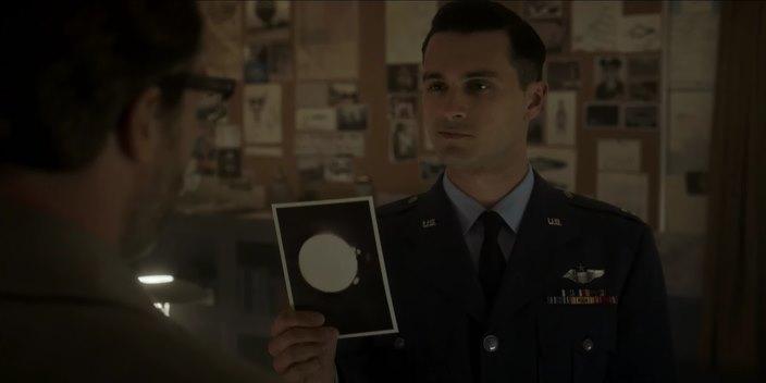 Капитан Куинн, Проект Синяя Книга