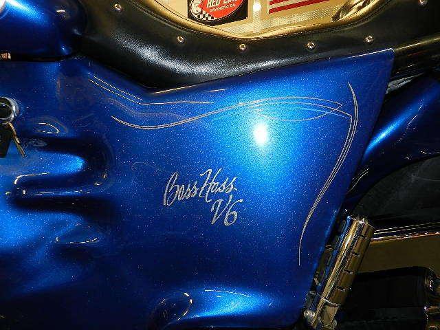 Первый мотоцикл Boss Hoss с двигателем V6, фотография 10.