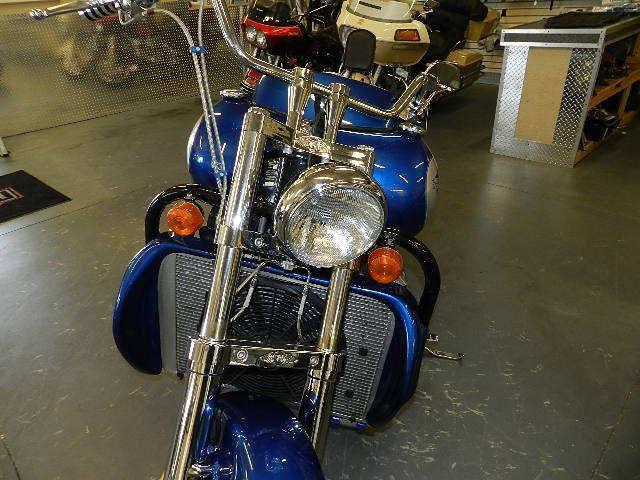 Первый мотоцикл Boss Hoss с двигателем V6, фотография 11.