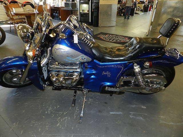Первый мотоцикл Boss Hoss с двигателем V6, фотография 15.