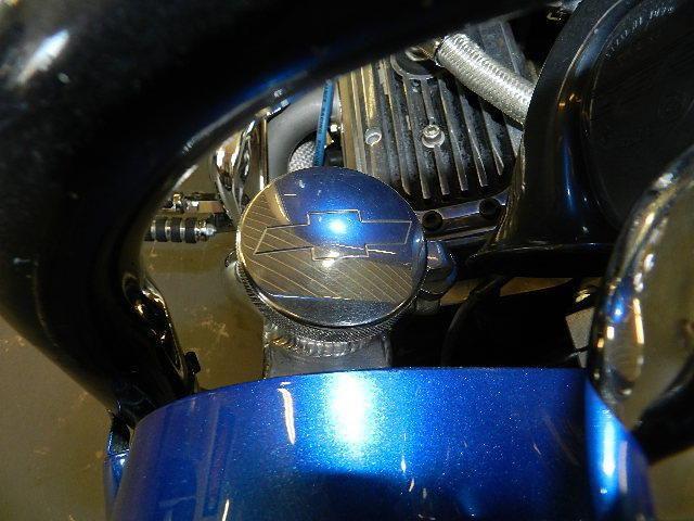 Первый мотоцикл Boss Hoss с двигателем V6, фотография 18.