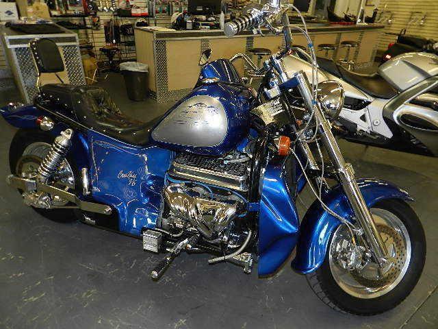 Первый мотоцикл Boss Hoss с двигателем V6, фотография 19.