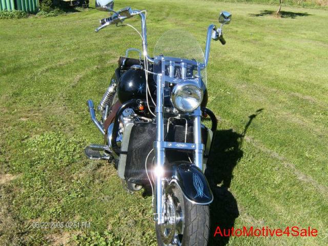 Четвёртый мотоцикл Boss Hoss с двигателем V6, фотография 4.