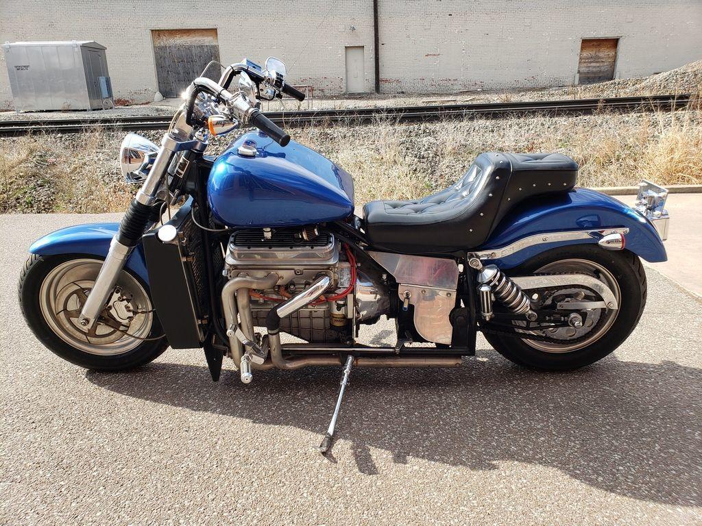 Мотоцикл Kannon с двигателем V6, фотография 13.