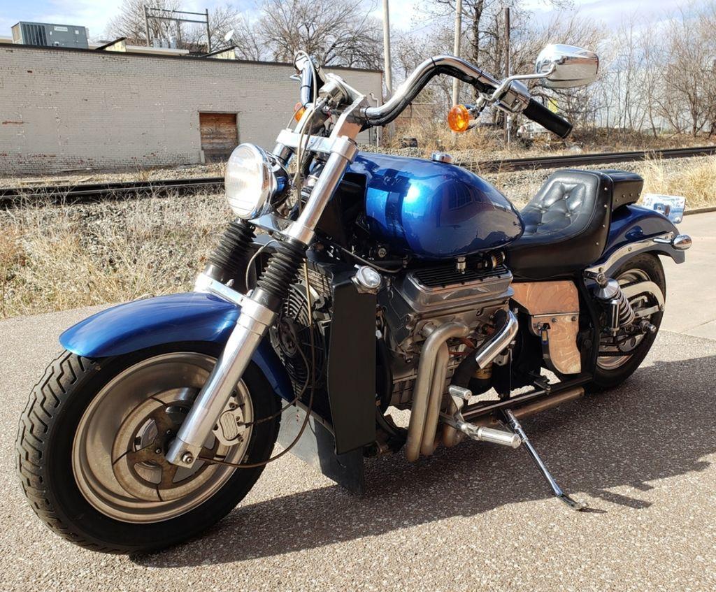 Мотоцикл Kannon с двигателем V6, фотография 12.