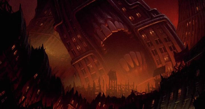Cool World background, 1992