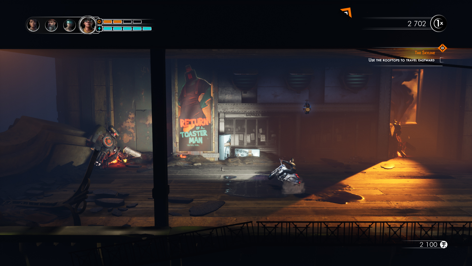 Steel Rats screenshot 1.