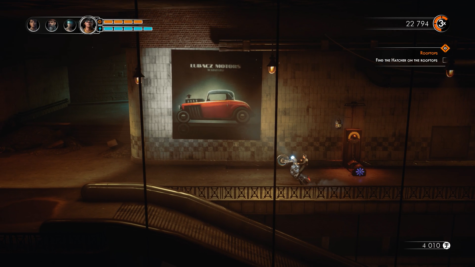Steel Rats screenshot 2.