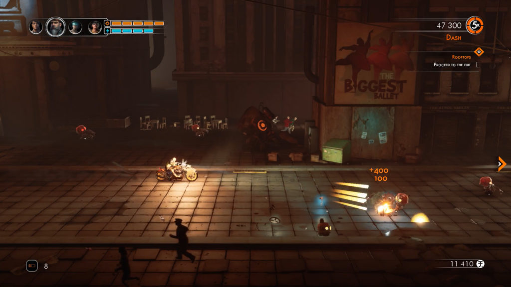 Steel Rats screenshot 3