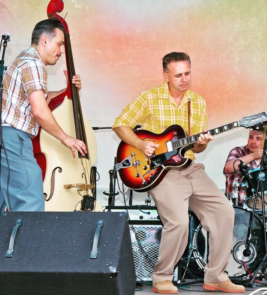 Russian Rockabilly 2020, Alex & Diamond Hands