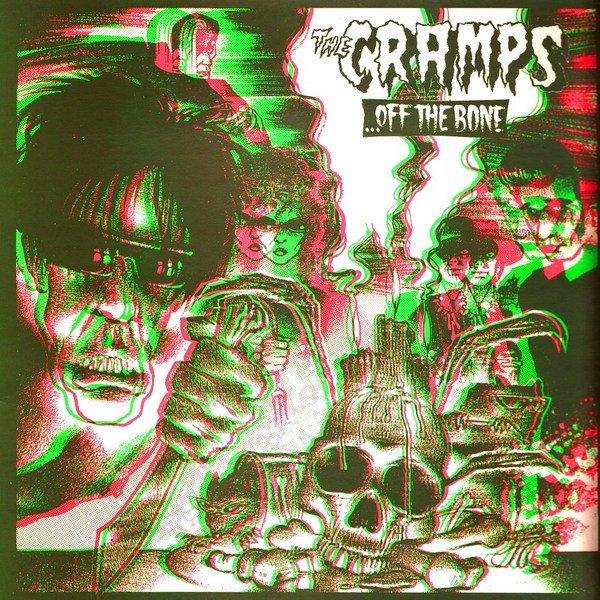 The Cramps, Off The Bone, обложка альбома, LP cover
