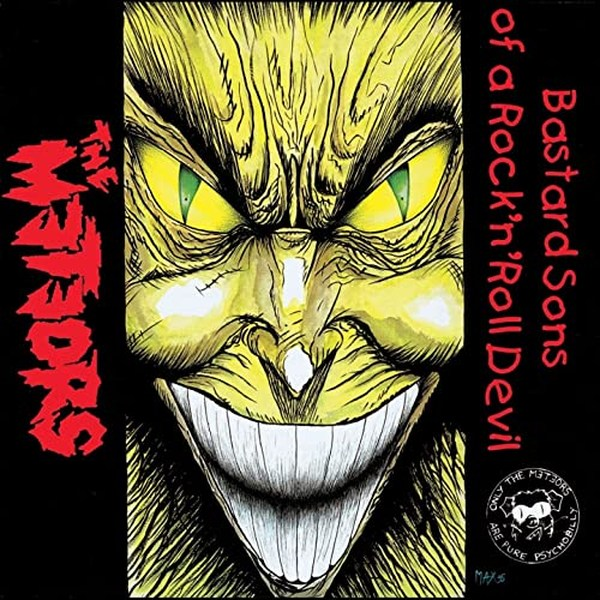Meteors, Bastard Sons Of A Rock'n'Roll Devil, album cover, CD