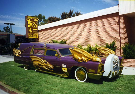 катафалк Каргулья в 80е, Barris Kargoyle hearse in the 80's