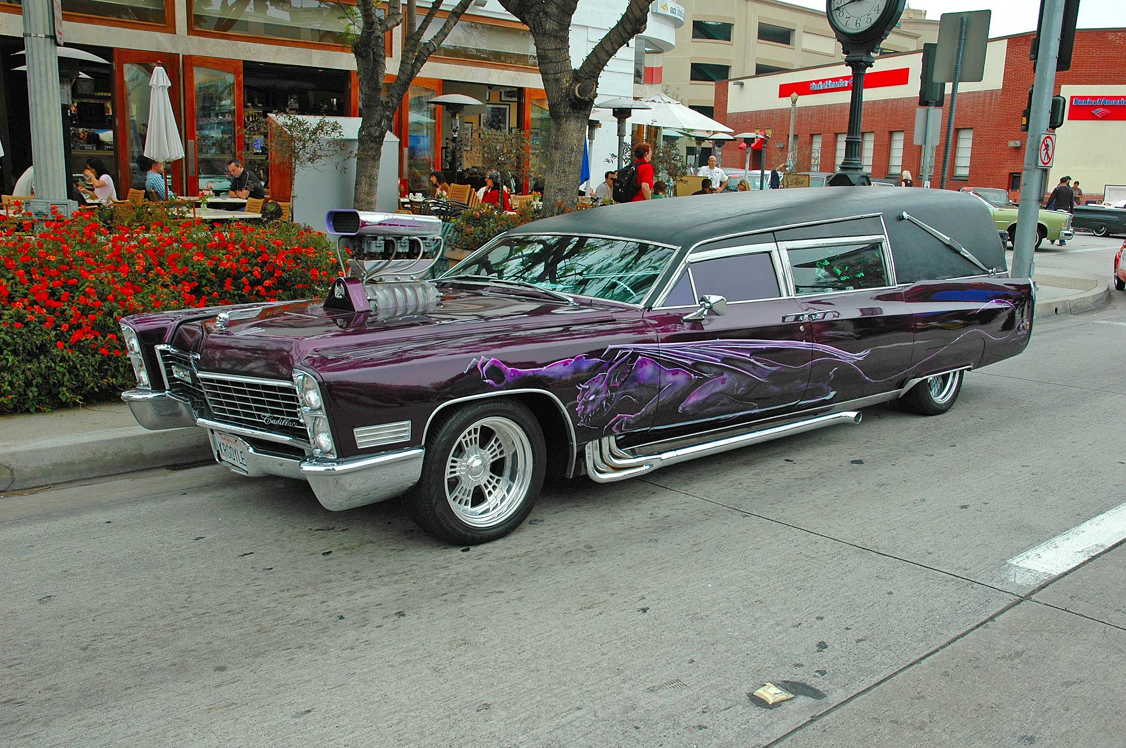 Barris' Kargoyle hearse, complete, photo 03.