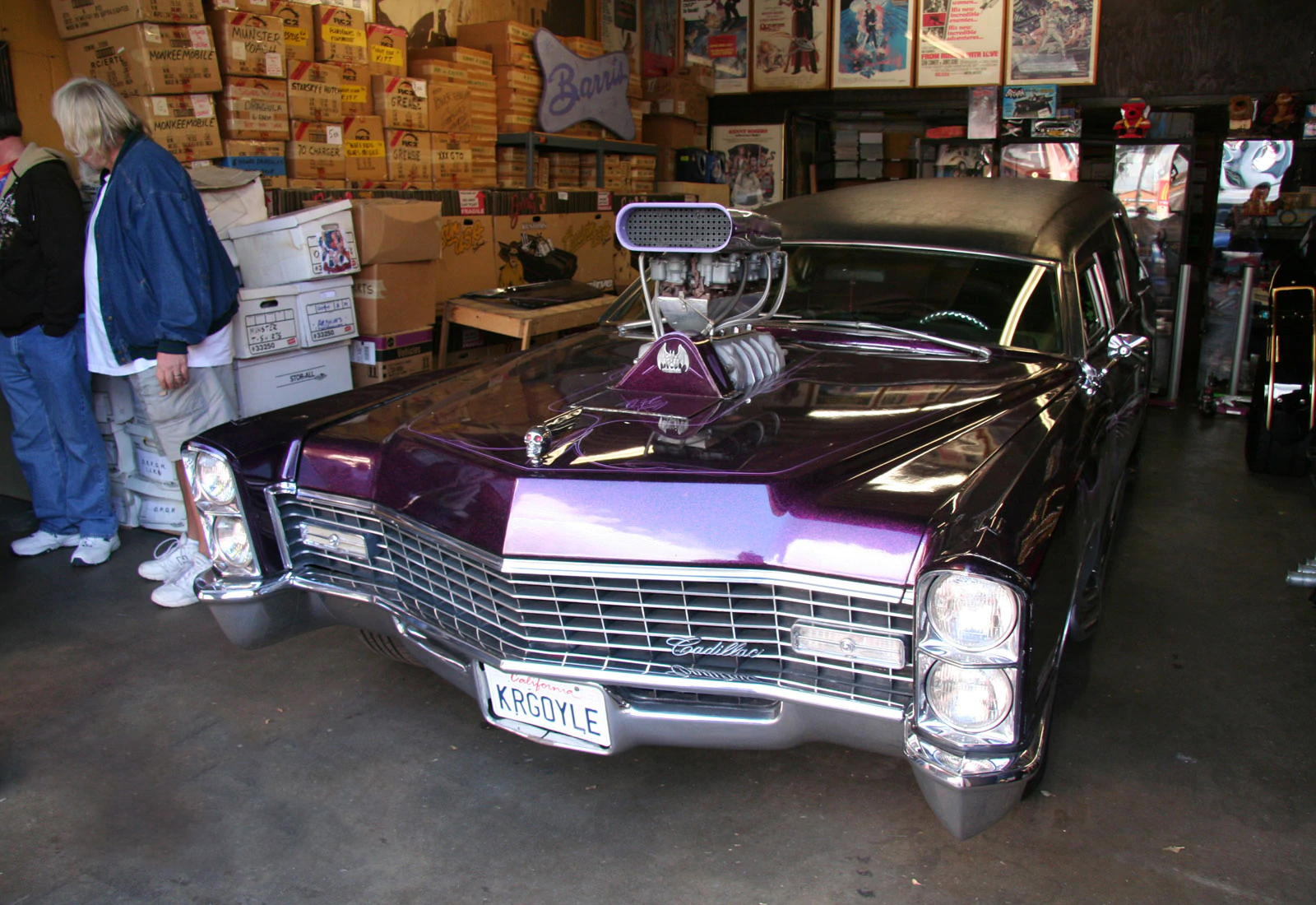 Barris' Kargoyle hearse, complete, photo 06.
