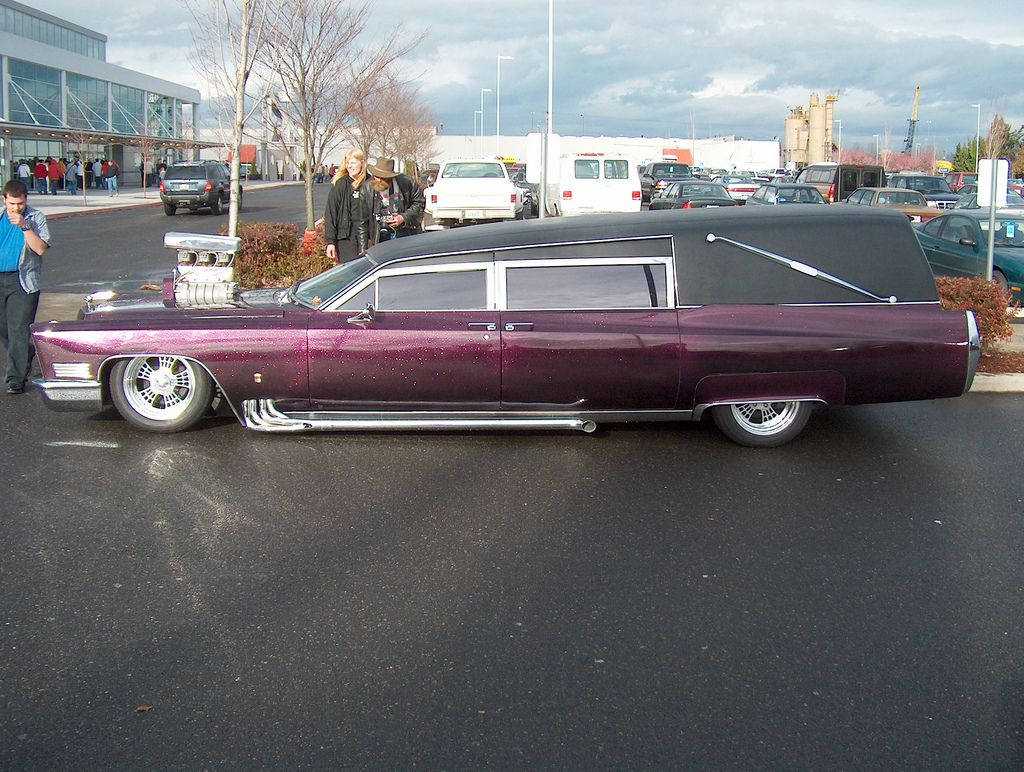 Barris' Kargoyle hearse without airbrush, photo 1.