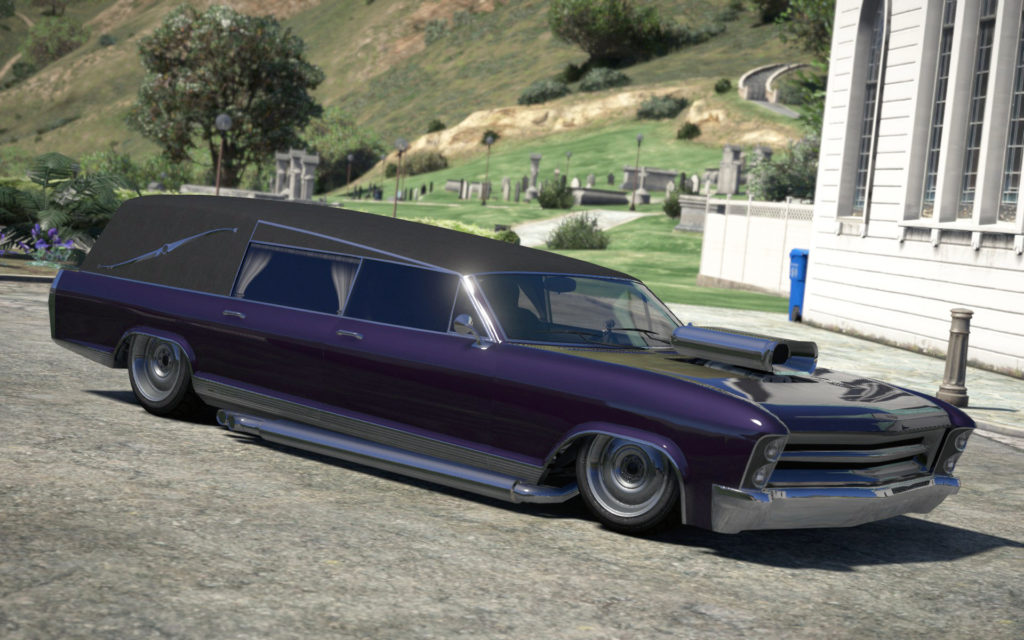Albany Lurcher, GTA Online, based on George Barris' Kargoyle