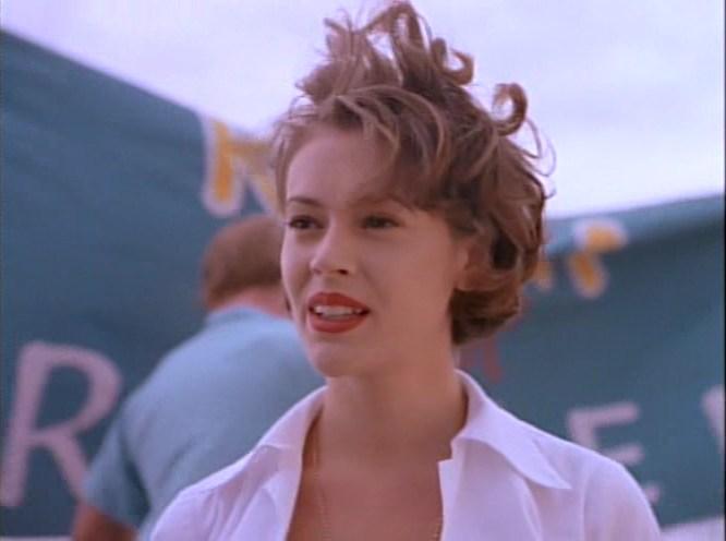 Алисса Милано, кадр из фильма, Признания студентки
