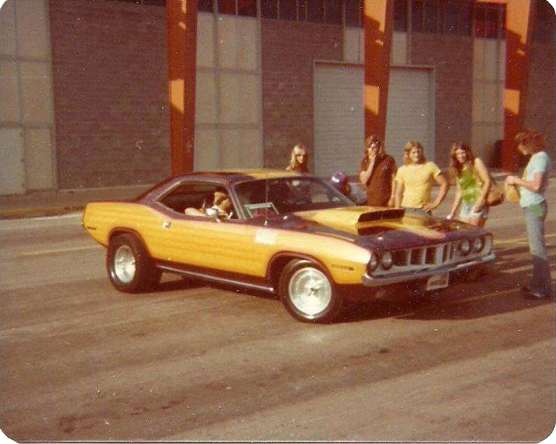 Mildly custom Barracuda from the 70's.