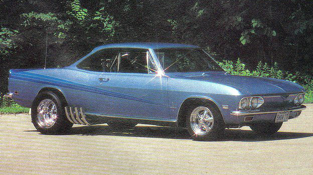 Mildly custom Corvair from the 70's.