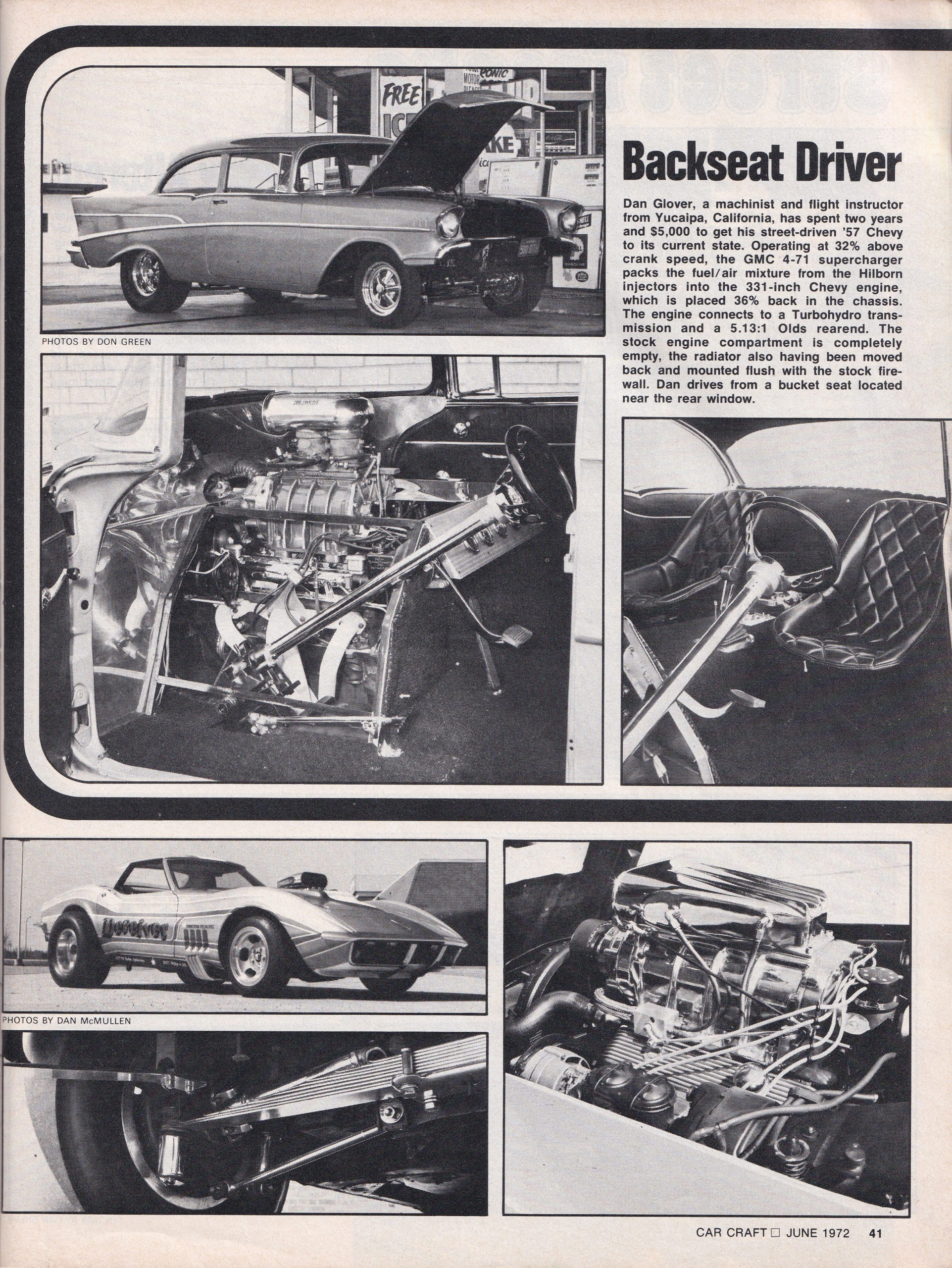Street Freaks section from June 1972 issue of Car Craft, page 3.