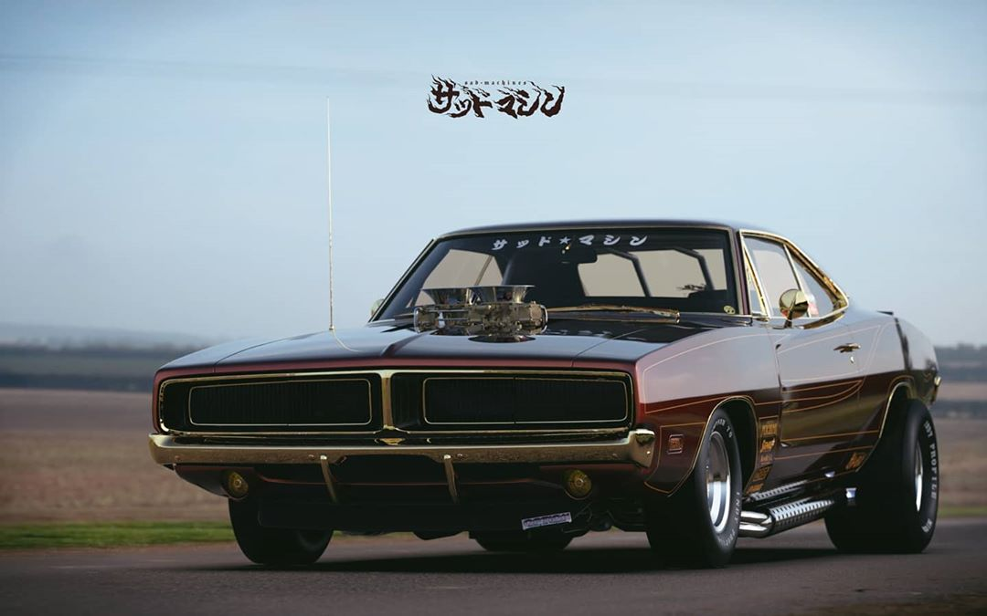 Street freak Dodge Charger from Japan, photo 01.