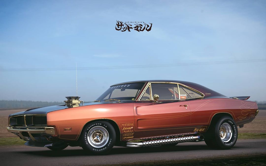 Street freak Dodge Charger from Japan, photo 02.