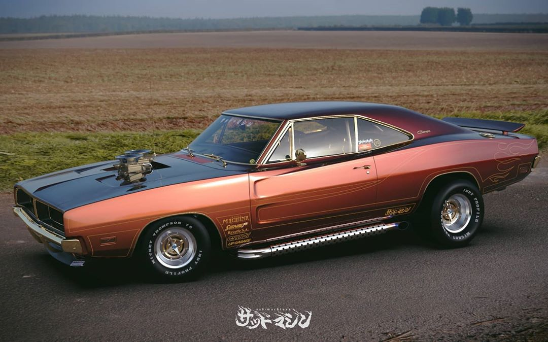 Street freak Dodge Charger from Japan, photo 03.