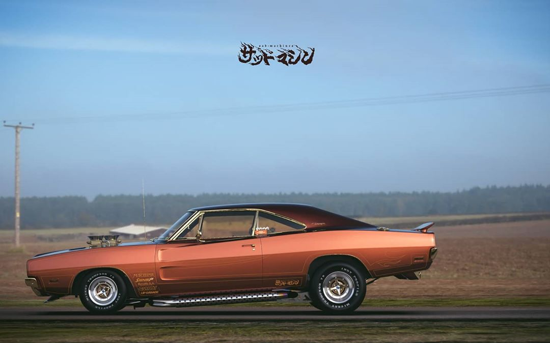 Street freak Dodge Charger from Japan, photo 04.