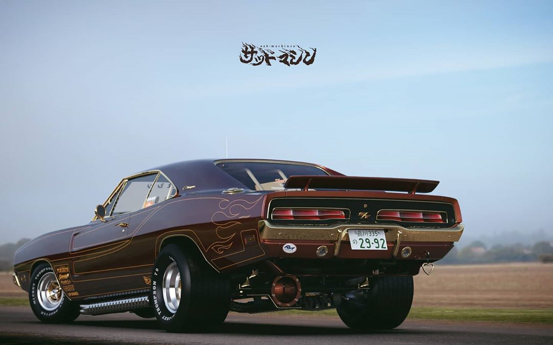 Street freak Dodge Charger from Japan, photo 06.