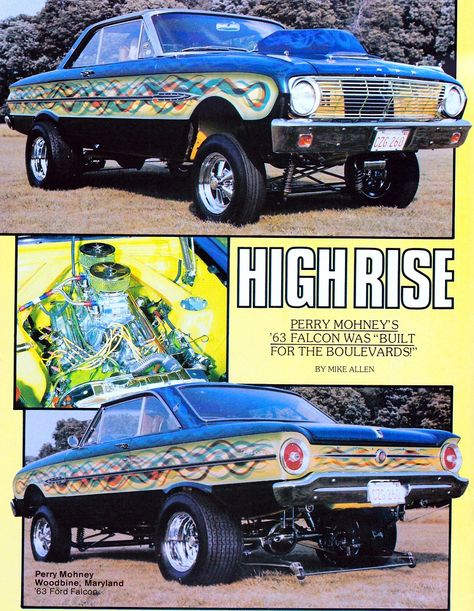 High Rise, magazine scan.