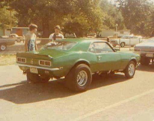 Street Freak Camaro, rear.