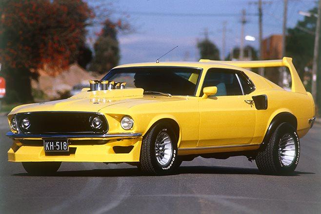 Street Freak Mustang.