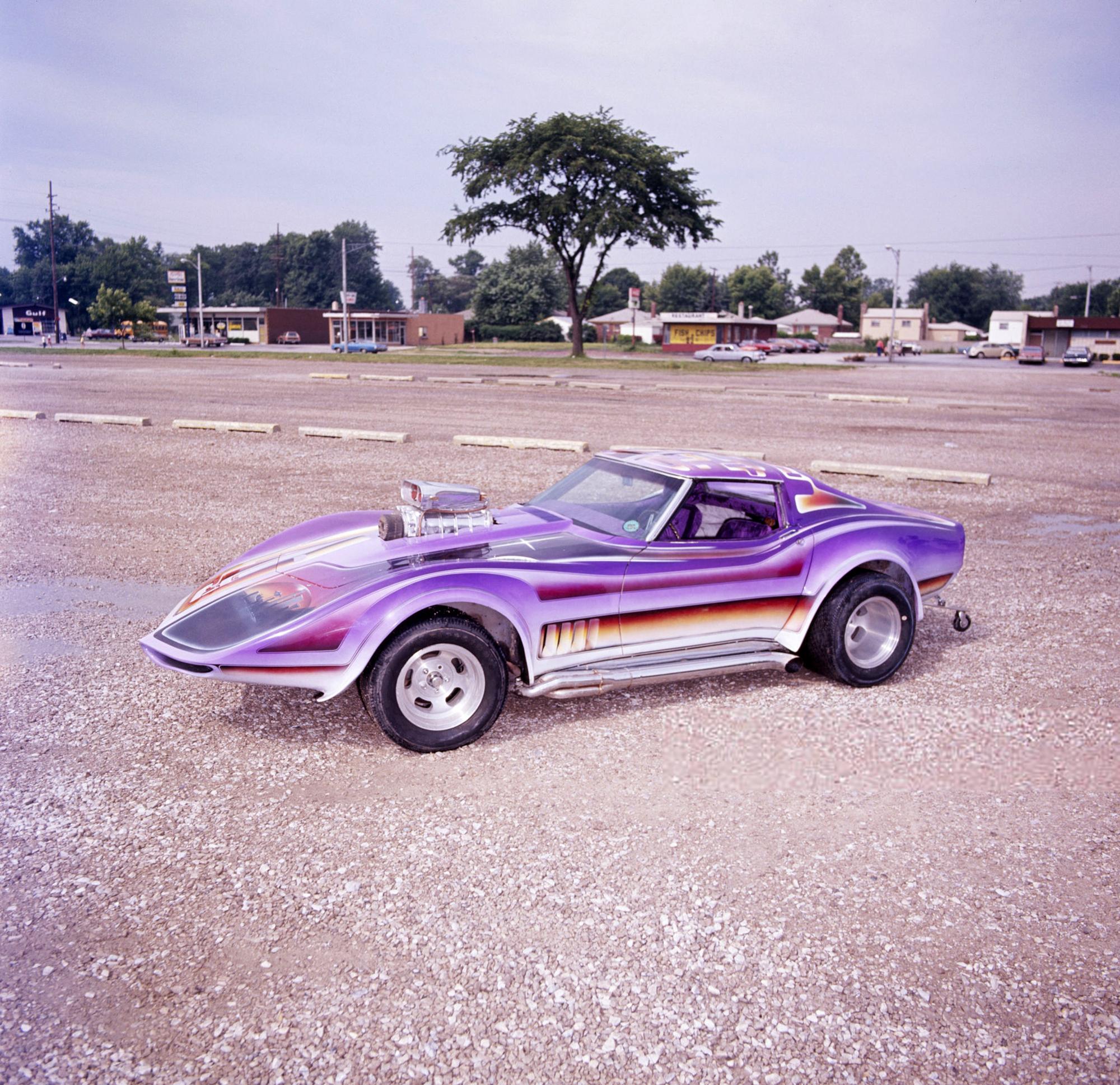 Rick Todd's Corvette, photo 2.