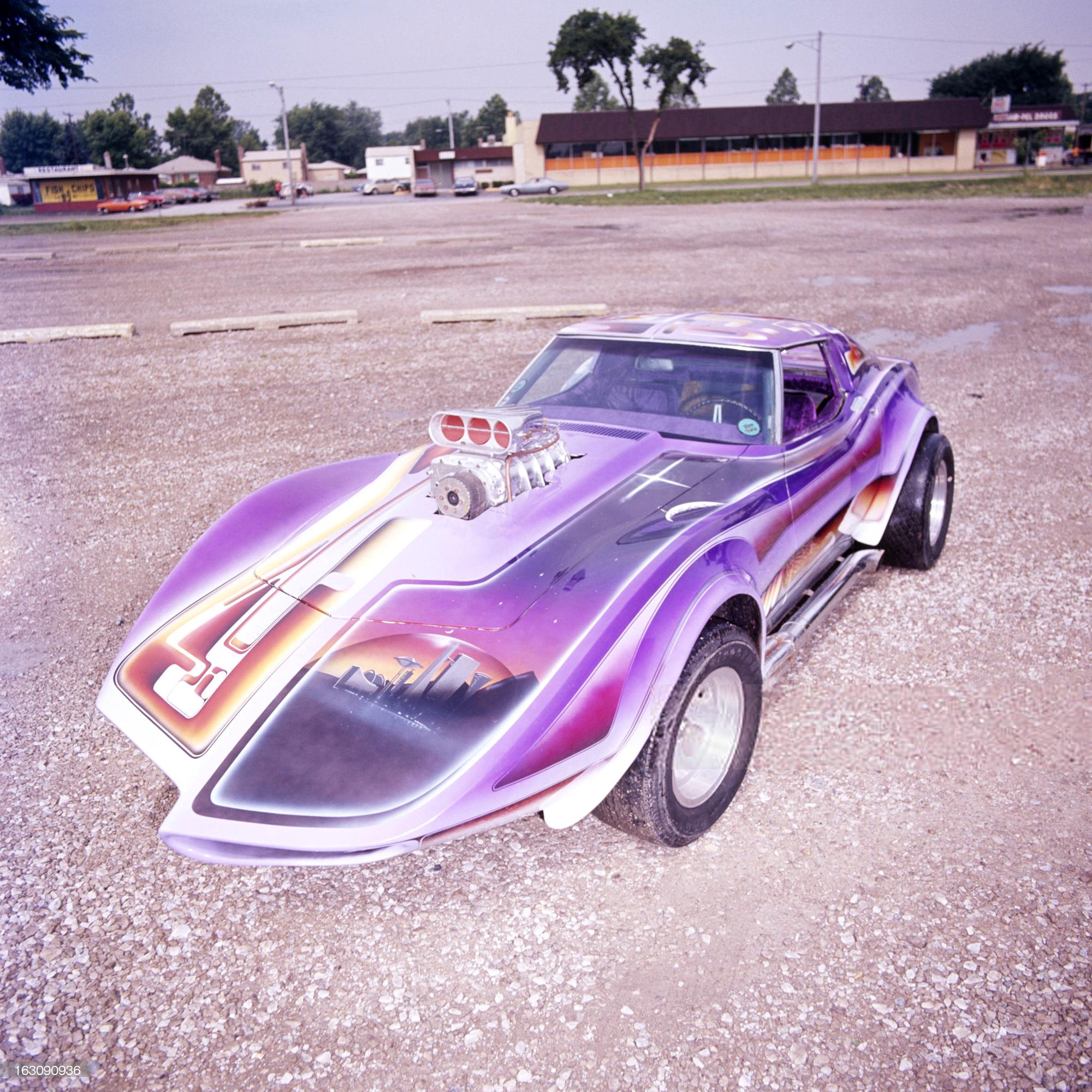 Rick Todd's Corvette, photo 1.