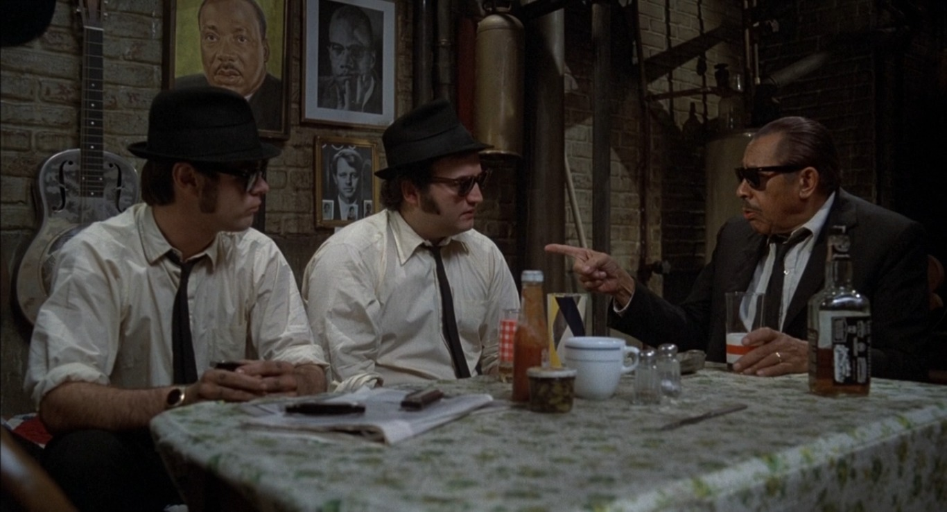 Дэн Экройд, Джон Белуши, Кэб Кэллоуэй, фильм Братья Блюз 1980