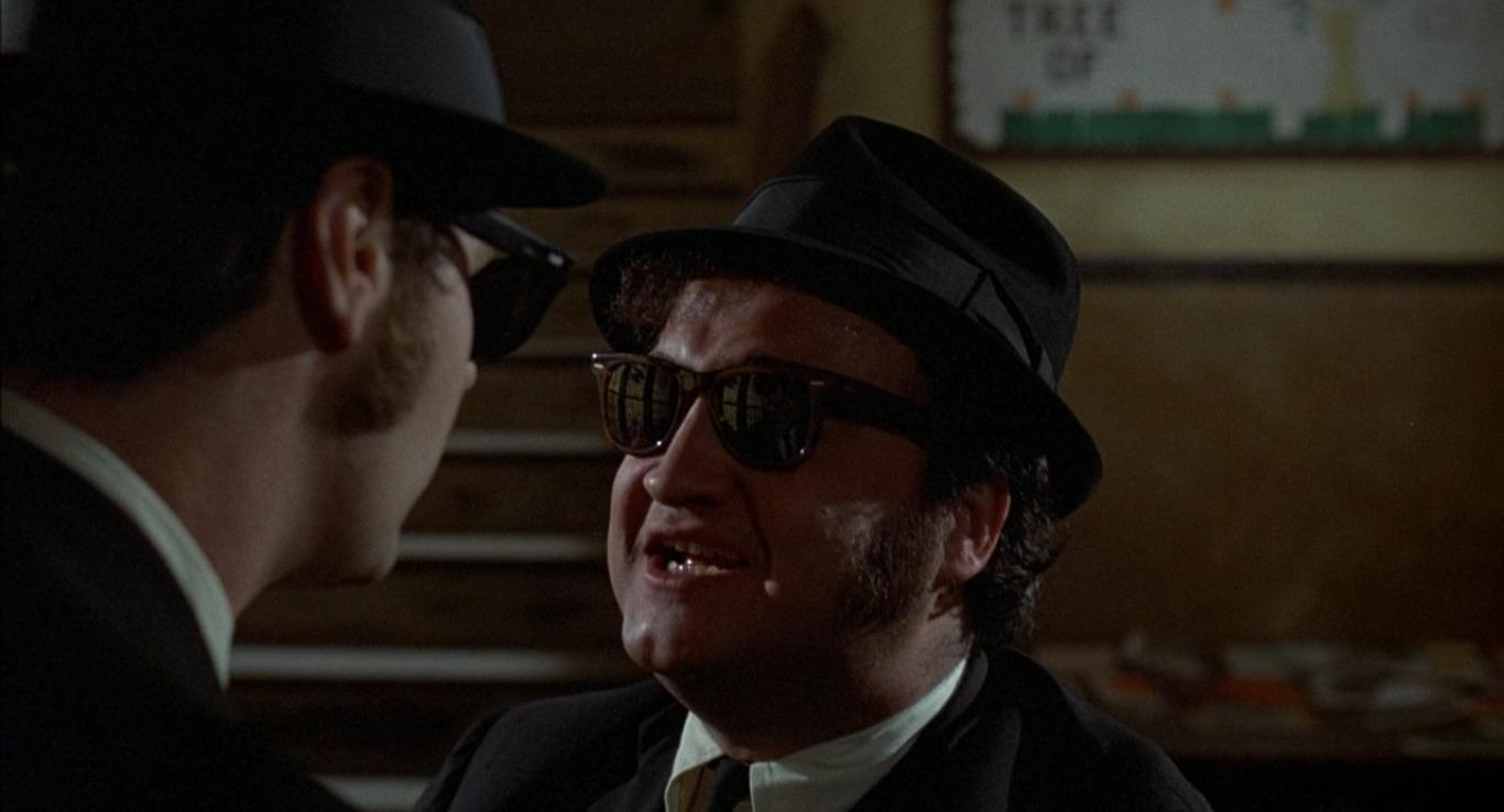 Джон Белуши, фильм Братья Блюз, 1980
