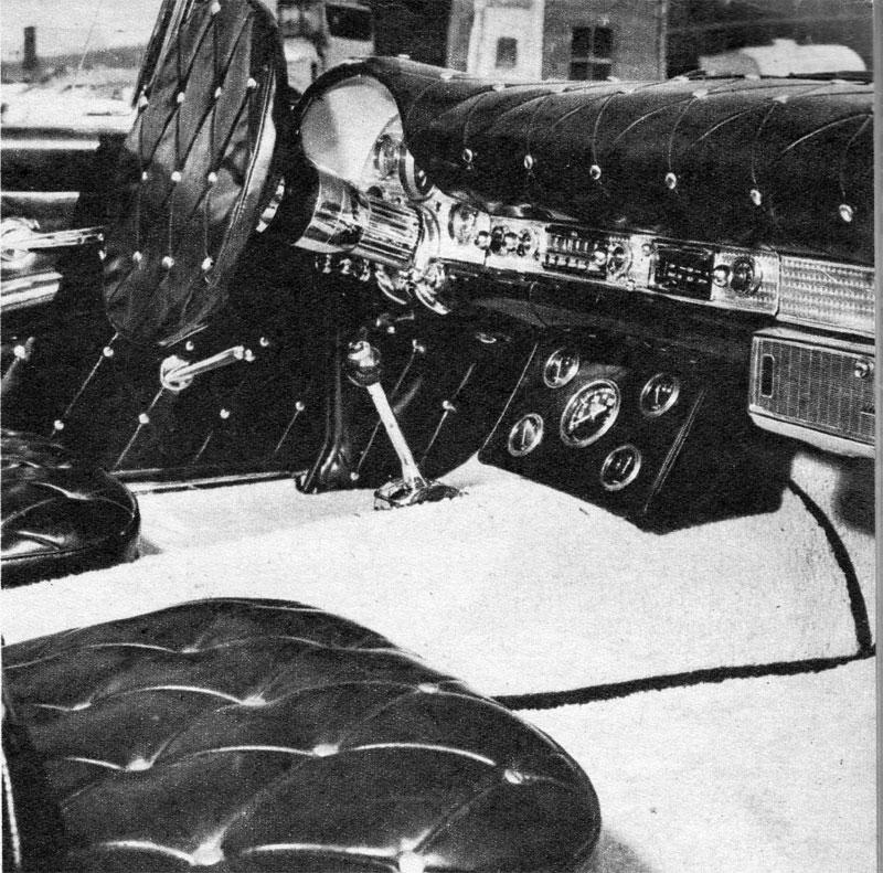Darryl Starbird's custom Ford Thunderbird, Le Perle, some magazine scan 1.