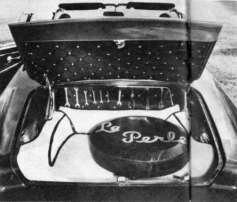 Darryl Starbird's custom Ford Thunderbird, Le Perle, some magazine scan 2.