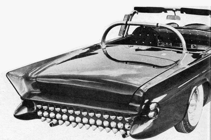 Darryl Starbird's custom Ford Thunderbird, Le Perle, some magazine scan 3.