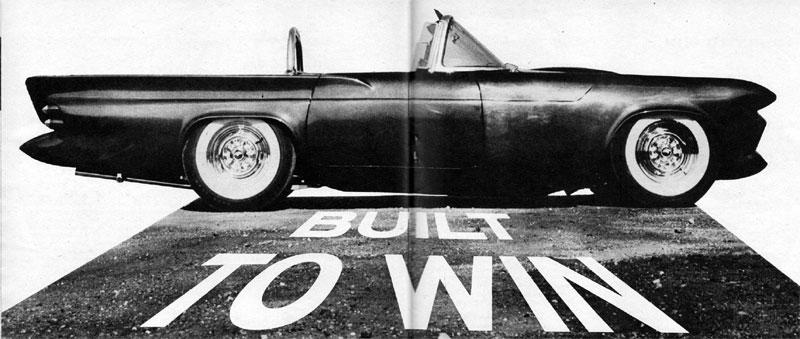 Darryl Starbird's custom Ford Thunderbird, Le Perle, some magazine scan 4.