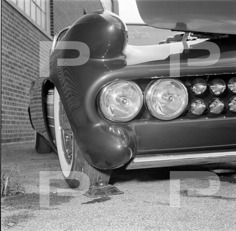 Darryl Starbird's custom Ford Thunderbird, Le Perle, HQ photo number 5 with some bad person's watermarks.